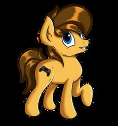 Derpibooru Horse by Qbellas