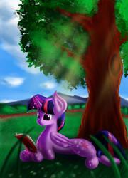 Twlight Horse by Qbellas