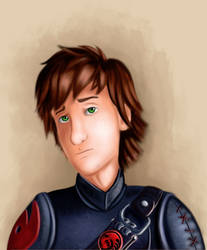 Disappointed Hiccup by Qbellas