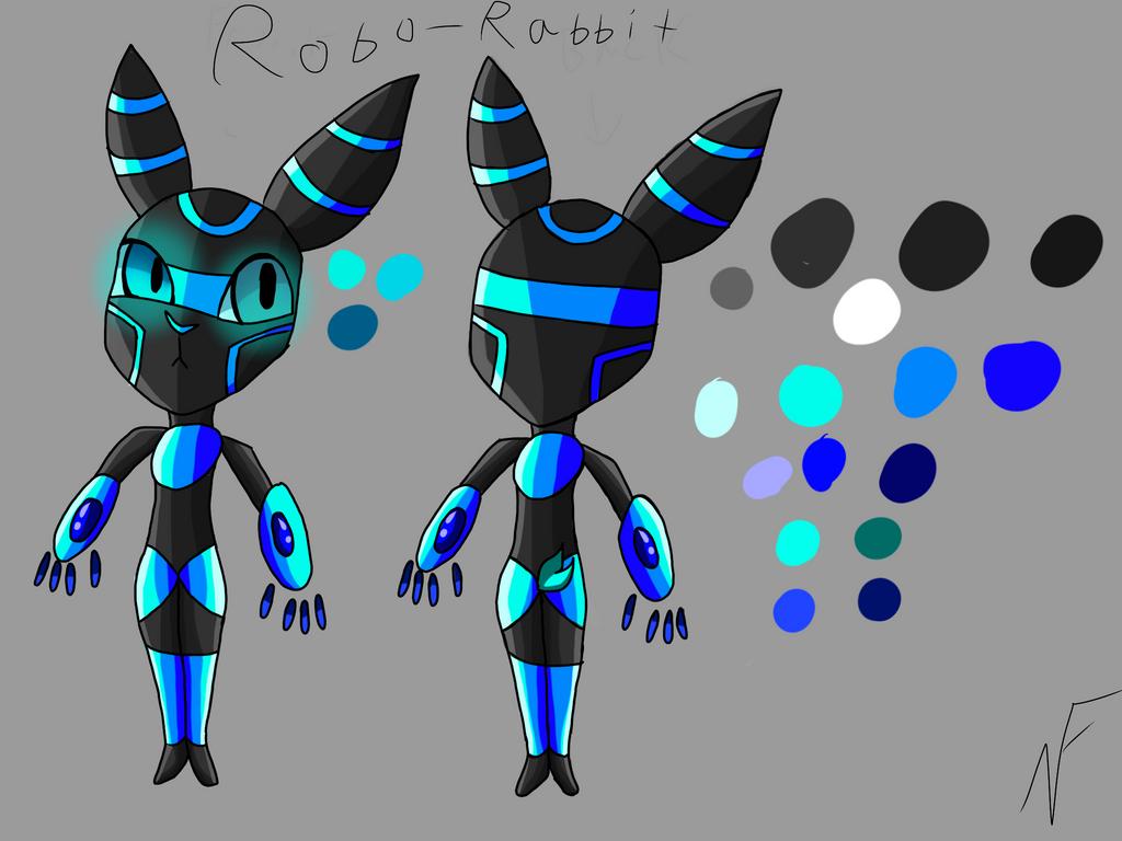 Little Robo Rabbits by Kotokolora