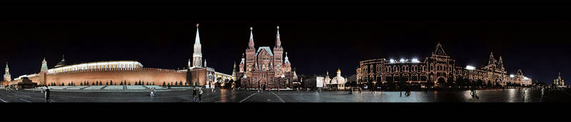Panorama Red Square Moscow by Mr-Funky-Vogelfutter