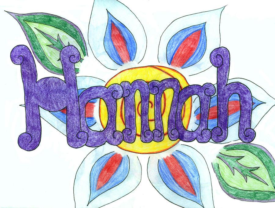 Hannah name art by MissRoomie on DeviantArt