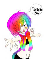Thank you! by Ask---RainbowRaver