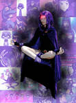 Raven meditates by Joendo