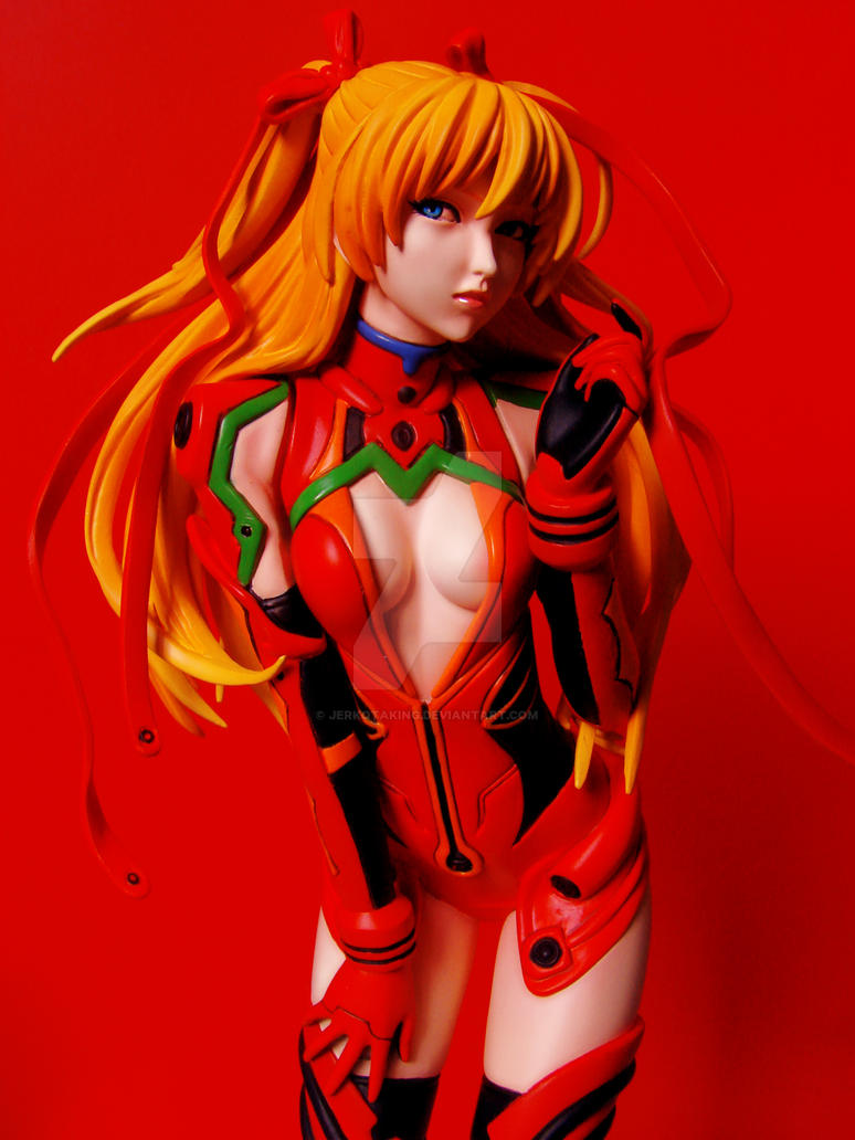 Asuka in Plugsuit 1 by jerkotaking