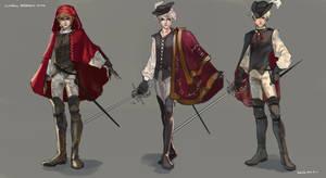 Nika - Clothing Variations