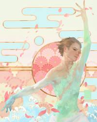 Katsuki Yuri by awanqi
