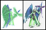 Quetzal lady