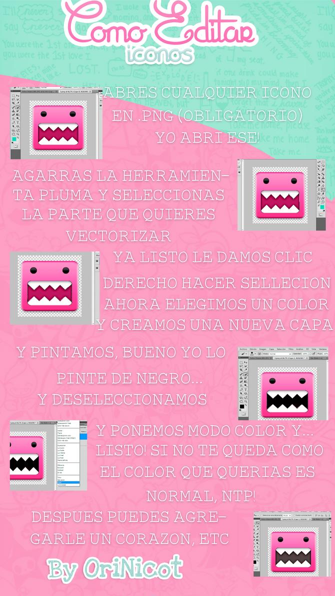 Tutorial Como Editar Iconos* by OriNicot
