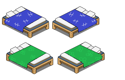 Japanese Futons For Habbo By Weepiest