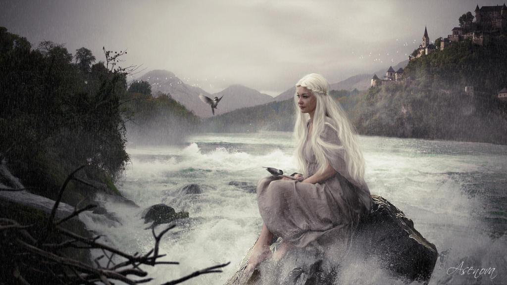 In the rain by assenova