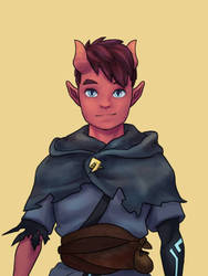 DnD Character: Felix Salakith by Carrot-Ache