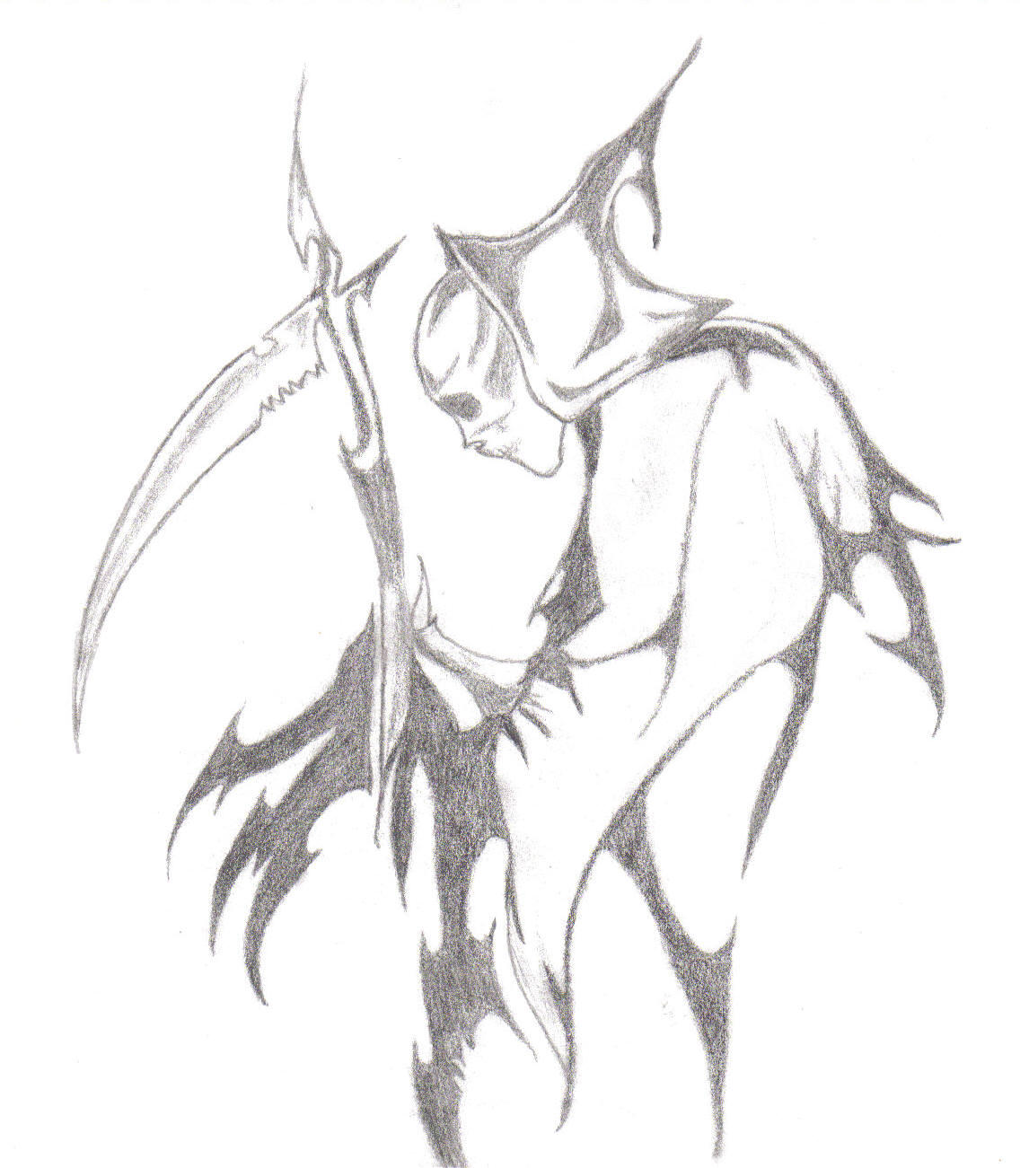 Emo Drawings together with Monkey King 439525140 furthermore Cute Mermaid Drawing furthermore Horse Demon 29804728 also Awesome Drawings Of The Grim Reaper. on scary anime drawings in pencil