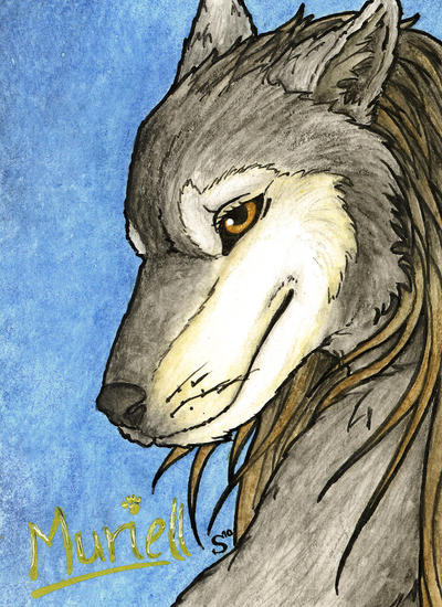 Muriell ACEO by Samantha-dragon
