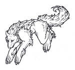 Muriell - wolf- lineart