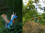 Paper toy contest entry by Samantha-dragon