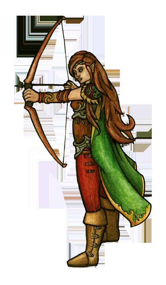 Arendel - elf form
