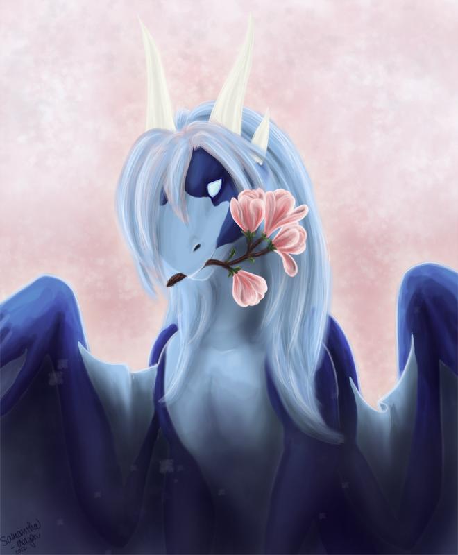 Magnolia by Samantha-dragon