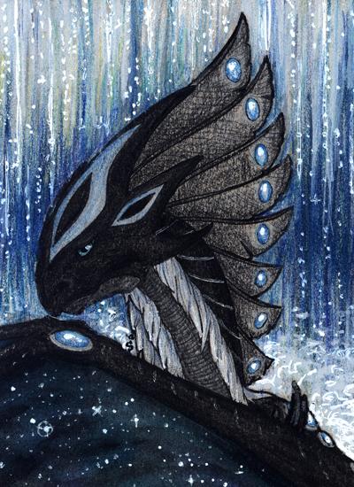 ACEO/ATC: Water by Samantha-dragon