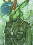 ACEO/ATC: Sybila - The Punk Queen