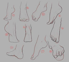 Feet chalenge: 1-10
