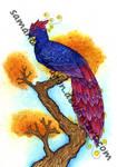 Commission: Phoenix for Lelixiana by Samantha-dragon