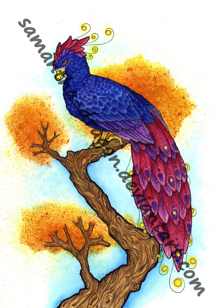 Commission: Phoenix for Lelixiana