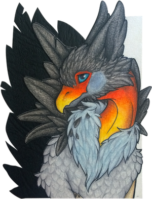 ACEO/ATC: So... You Like My Feathers?