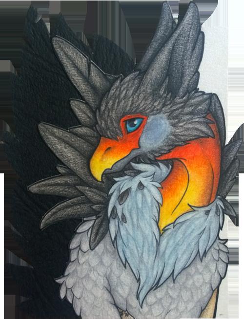 ACEO/ATC: So... You Like My Feathers?
