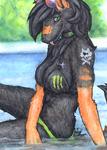 ACEO/ATC: Monster girl