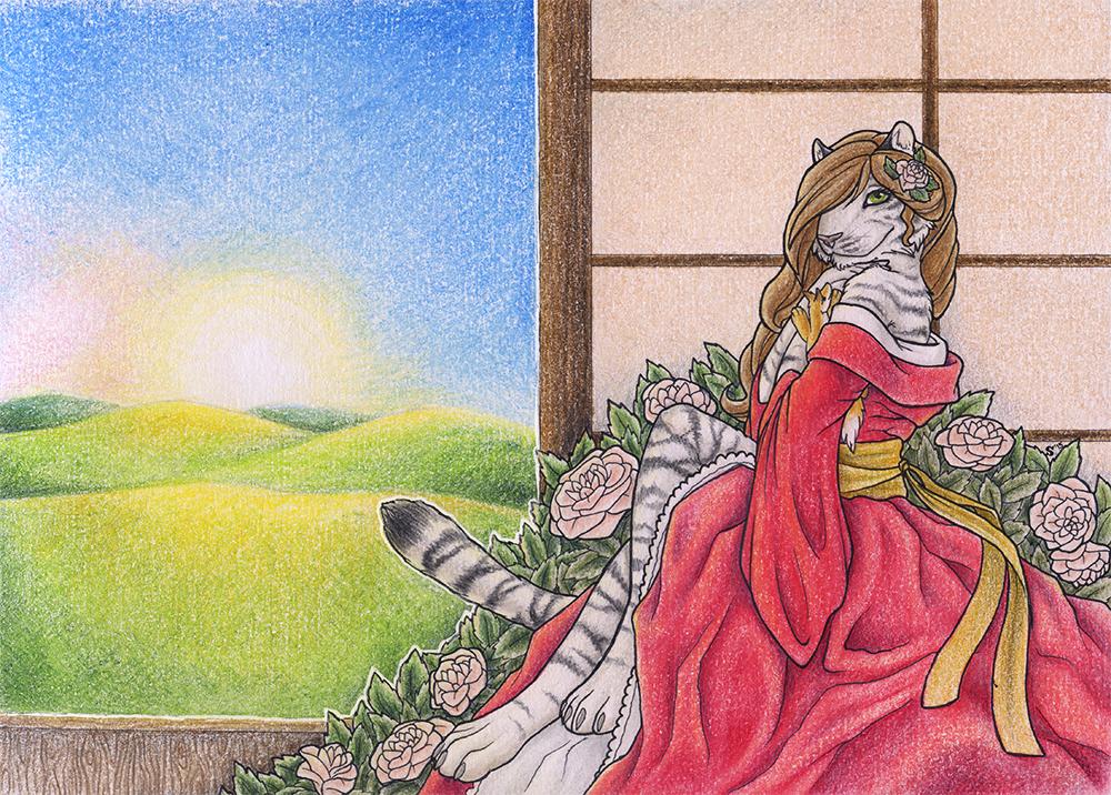 SP3: A Bit Shy Beauty by Samantha-dragon