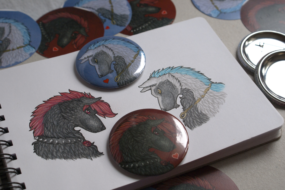 Commission: SP4: Buttons to Anniversary
