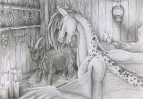 Commission: Hungry Liz by Samantha-dragon