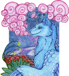 ACEO/ATC: Little Pink Wisps by Samantha-dragon