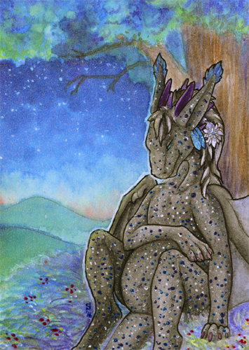 ACEO/ATC: The Birth of the Star