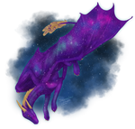 Orion, the galaxy dragoness