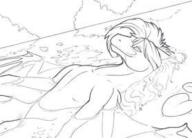 InkTober - No. 16: Wet by Samantha-dragon