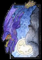 InkTober - No. 17: Jump by Samantha-dragon