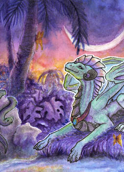 Commission: ACEO/ATC: Tropical Paminto