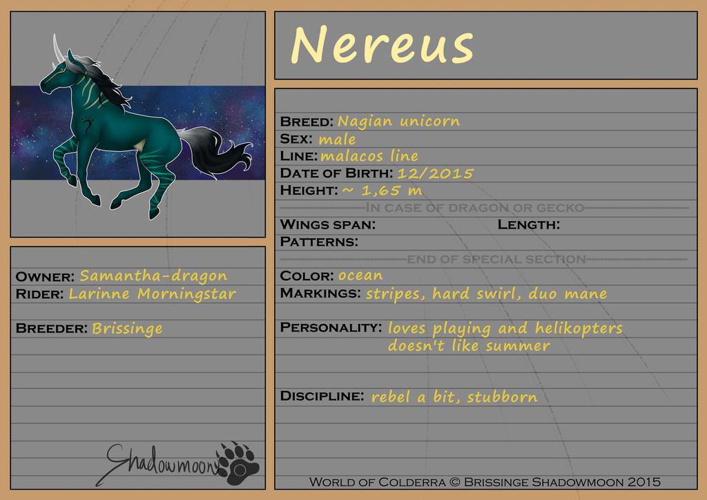 WoC: Mount ID: Nereus