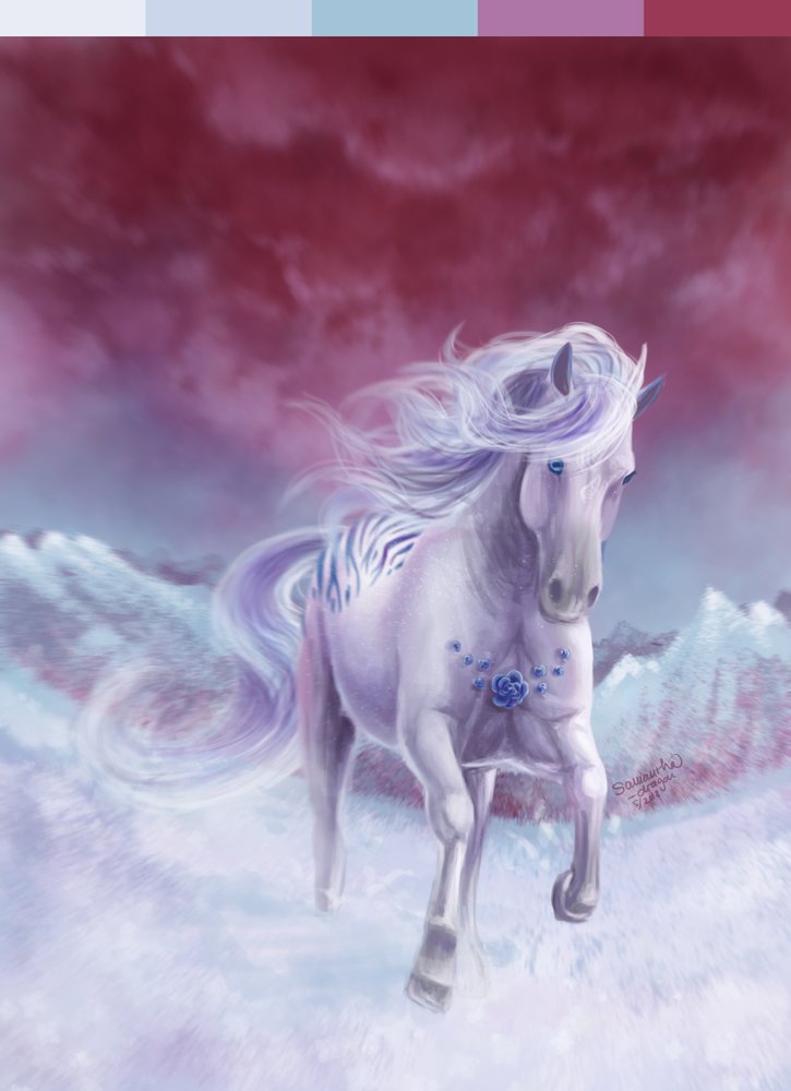 Contest/mini-event: Frozen Rose by Samantha-dragon