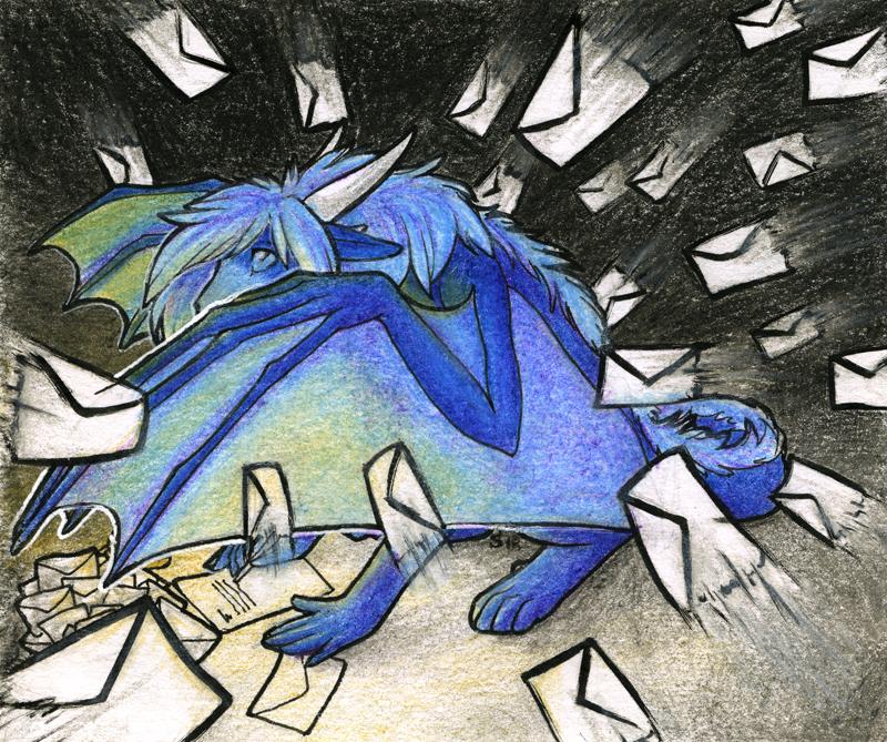Correspondence by Samantha-dragon