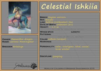 WoC: Mount ID: Celestial (Ishkiia) by Samantha-dragon