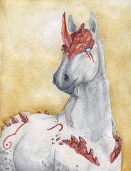 ArtPayment: Fanghoof by Samantha-dragon