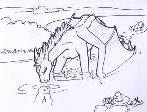 Orion swimming mini-story II.