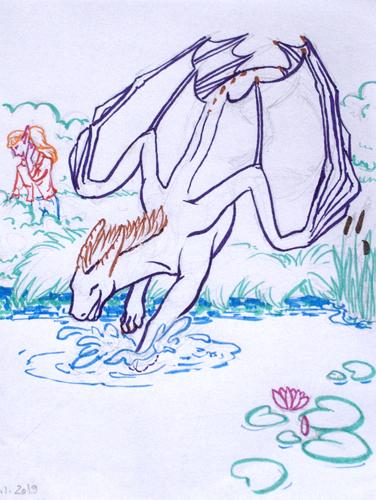 Orion swimming mini-story I.