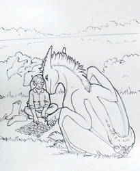 Orion swimming mini-story IV. by Samantha-dragon