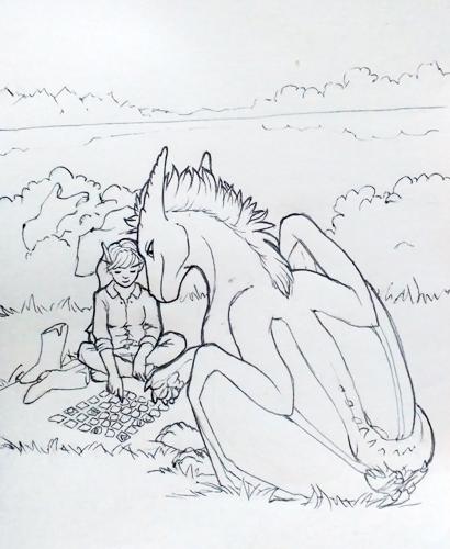 Orion swimming mini-story IV.