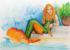 Contest/Event: Sunbathing Mermaid