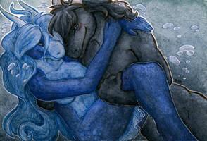 Gift: Underwater Cuddles